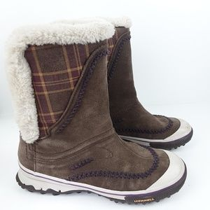 Merrell 400 gram insulated waterproof snow boots